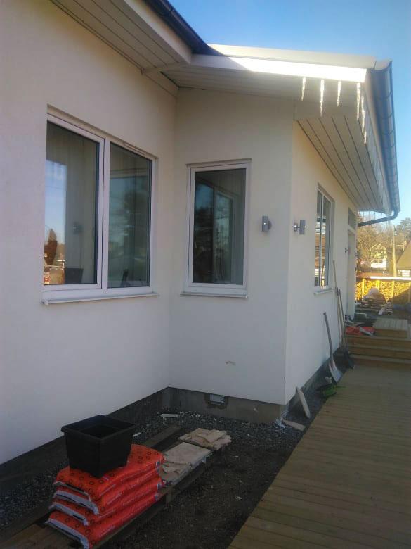 Išorės renovacijos darbai